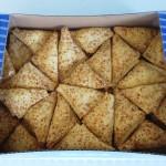 Sausainiai su kokosų skonio įdaru